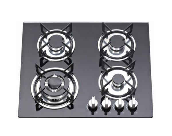 ALK-4502 Tempered Glass Built-in Gas Hob Gas Stove with 4 Burners