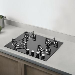 ALK-4502 Tempered Glass Built in Gas Hob Factory Price 4 Burners Gas Stove