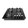 ALK-4509 Tempered Glass Built-in Gas Hob Gas Stove Gas Cooker with 4 Burners 60cm