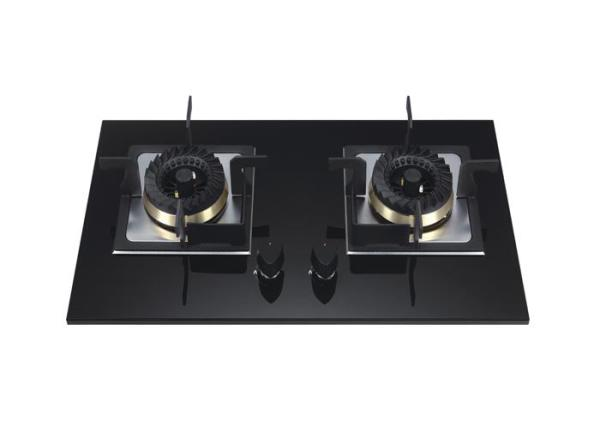 ALK-D7021 Tempered Glass built-in Gas Hob with 2 burner