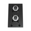 ALK-2301 Tempered Glass 2 Burner Built-in Gas Hob with Safety Device 30cm