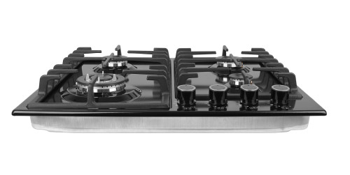 ALK-4503 Tempered Glass Built-in Gas Hob Gas Stove with 4 Burners Good Price