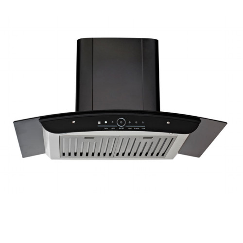ALK-R222 Touch Control Stainless Steel Kitchen Chimney Hood Cooker Hood