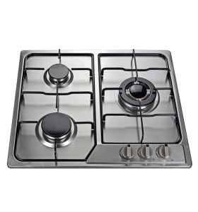 ALK-3502 3 Burners Stainless Steel Gas Hob Gas Stove With Safety Device