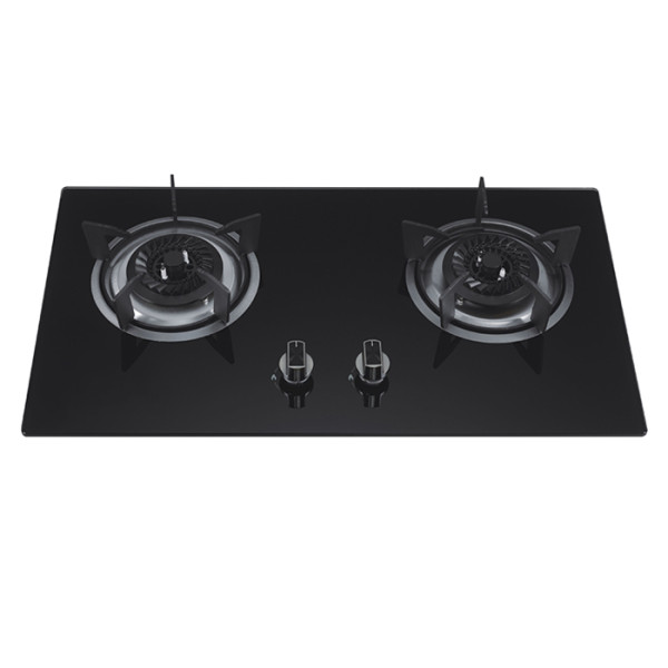 ALK-D7042 Tempered Glass Built-in Gas Hob Gas Stove with Safety Device