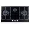 ALK-G9032 Tempered Glass Built-in Gas Hob Gas Stove Gas Cooktop 3 Burners 90cm LPG NG