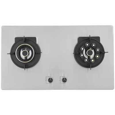 ALK-S2305 Stainless Steel Foldable Built in Gas Hob with 2 Burner