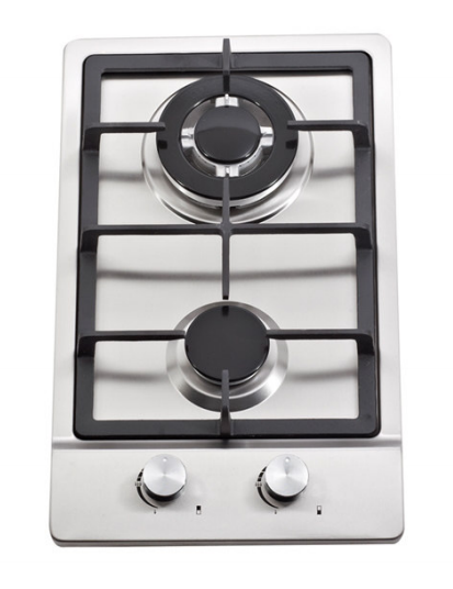 ALK-2303 Two Burners Stainless Steel built in Gas Hob Gas Stove