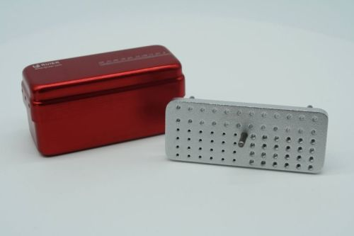72-hole dual autoclavable box for three uses(Solid core)