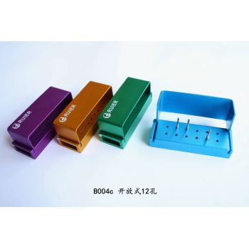 12-hole autoclavable box for opening