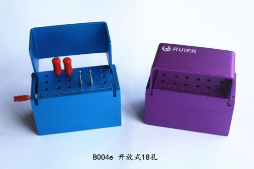 18-hole autoclavable box for opening