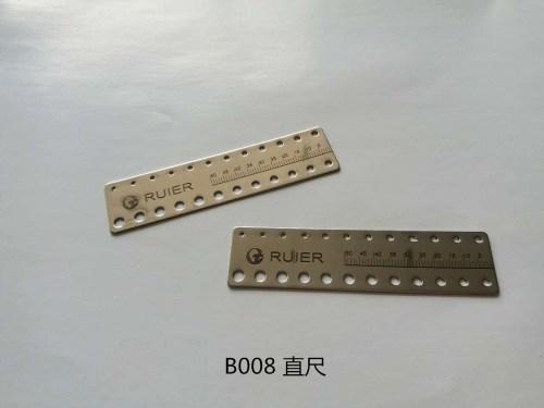 Dental measuring ruler (ruler)