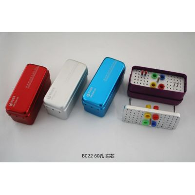 60-hole autoclavable box(Solid core)