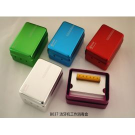 Teeth cleaning disinfection box machine work