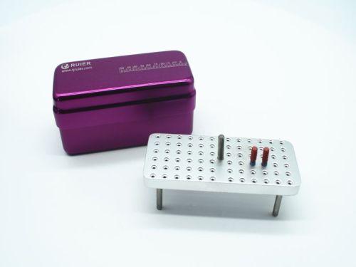72-hole  autoclavable box (Solid core)