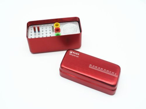 36-hole autoclavable box