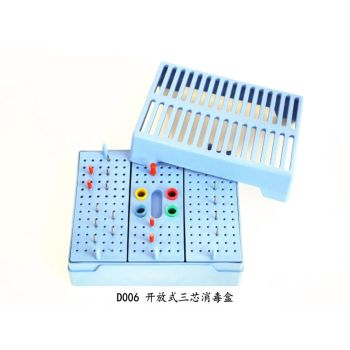 autoclave box for opening (three-core)