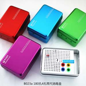 180-hole 4-hole disinfection box with ruler