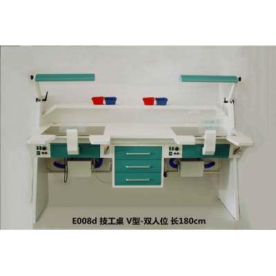 Artisan table V-shaped-double seat length 180cm