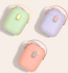 Оптовая торговля BPA Free Food Grade PP Нетоксичная портативная коробка для порошкового молока для младенцев из Китая