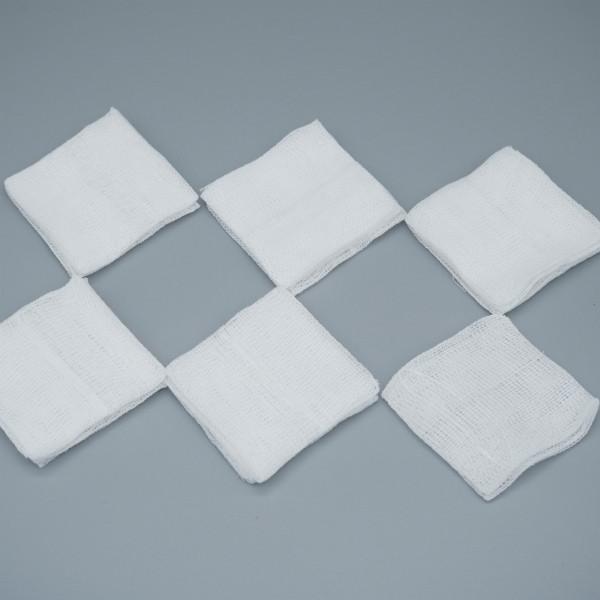 Оптовые хлопковые медицинские нестерильные марлевые прокладки для ран