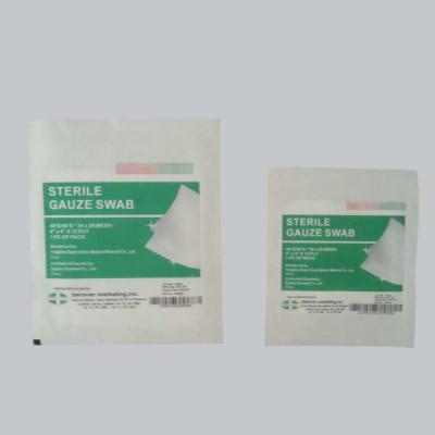 Оптовые хлопковые медицинские стерильные марлевые прокладки для ран
