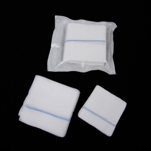 傷のための卸売綿医療滅菌ガーゼパッド