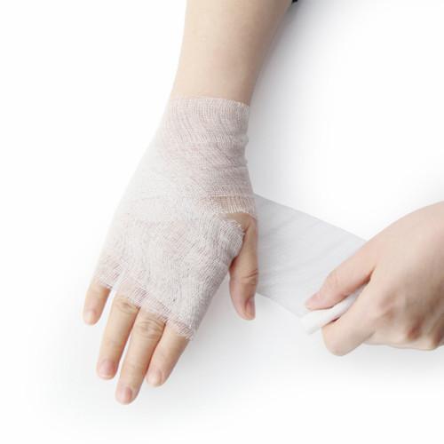 Оптовый хлопчатобумажный медицинский марлевой повязки для больниц для ожогов и ран