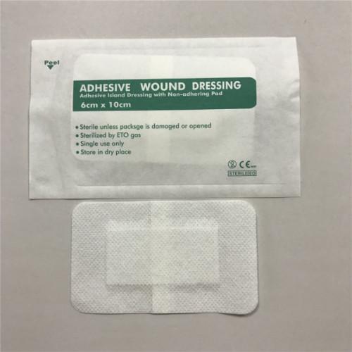 創傷ケアのための卸売滅菌不織布医療用接着剤創傷被覆材