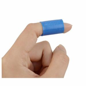 الجملة حسب الطلب رغوة معقمة النسيج إصبع الفرقة المعونة للعناية بالجروح