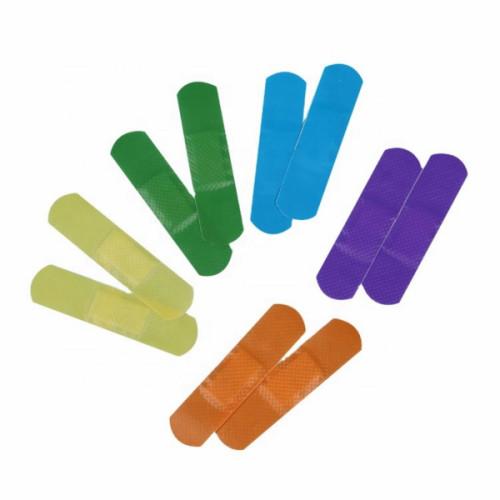 الجملة مخصص العقيمة البلاستيكية إصبع الفرقة المعونة للعناية بالجروح