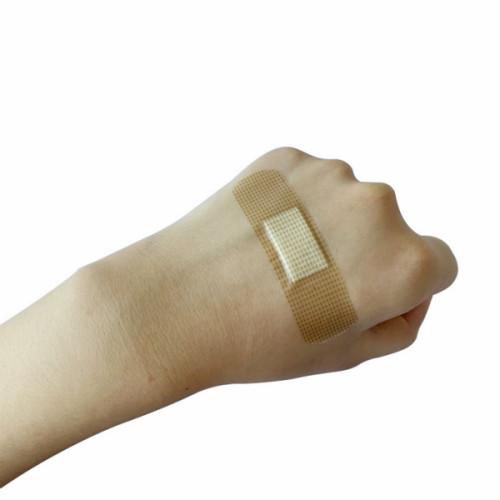الجملة المخصصة العقيمة PE فنجر باند المعونة للعناية بالجروح