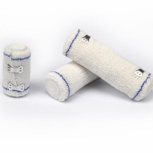 足首の捻挫のための卸売綿弾性綿クレープ包帯