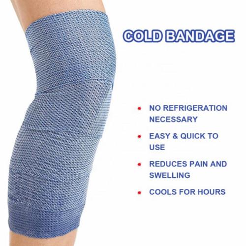 الجملة ضمادة باردة مرنة لآلام العضلات