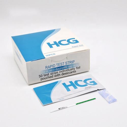 الجملة HCG اختبار الحمل قطاع بدقة عالية