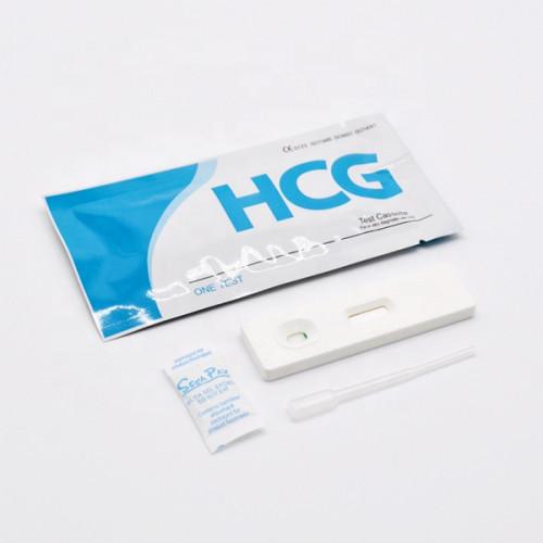 الجملة hcg اختبار الحمل كاسيت ذات دقة عالية
