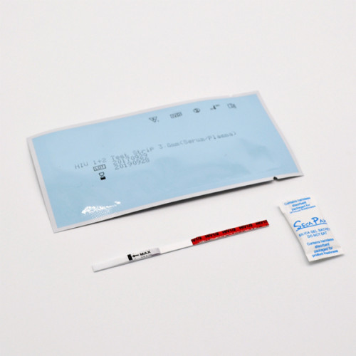 طقم اختبار فيروس نقص المناعة البشرية للبيع بالجملة لاختبار المصل والدم الكامل من الصين