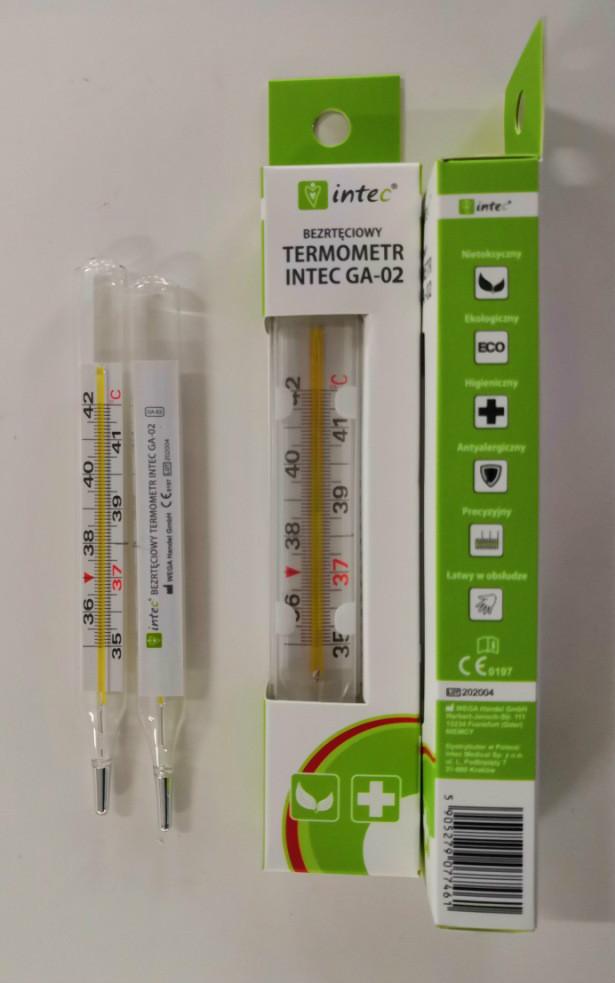 безртутный термометр