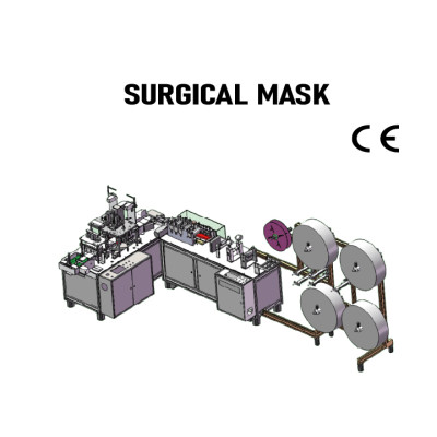 SUNTECH High speed automatic surgical mask machine