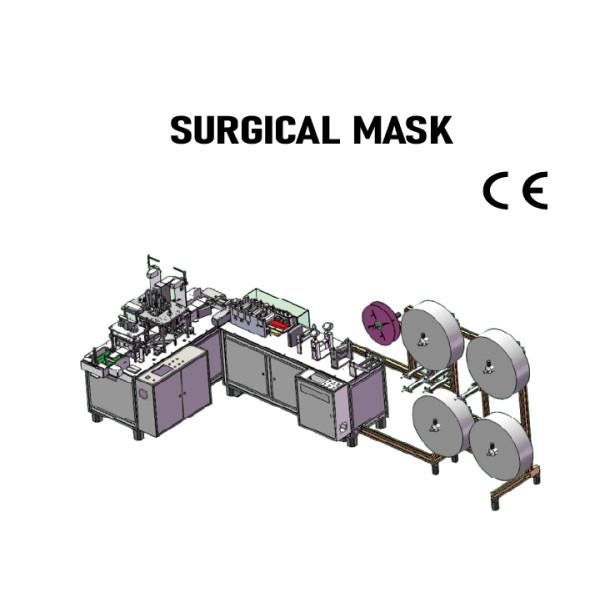 SUNTECH High speed automatic surgical mask machine
