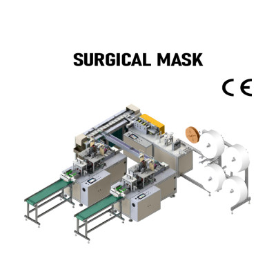 SUNTECH Full Automatic High quality  Mask Making Machine