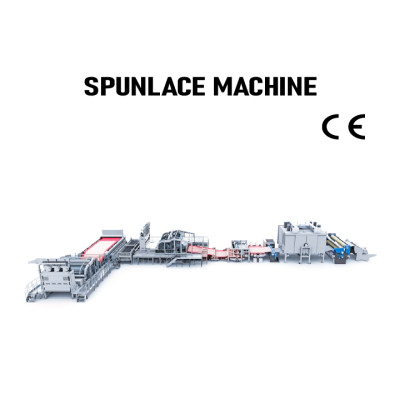SUNTECH Automatic pp spunlace nonwoven fabric machine spunlace nonwoven fabric making machine