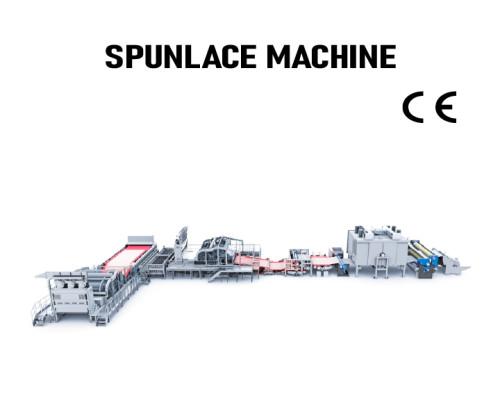 SUNTECH Automatic pp spunlace nonwoven fabric machine spunlace nonwoven fabric making machine