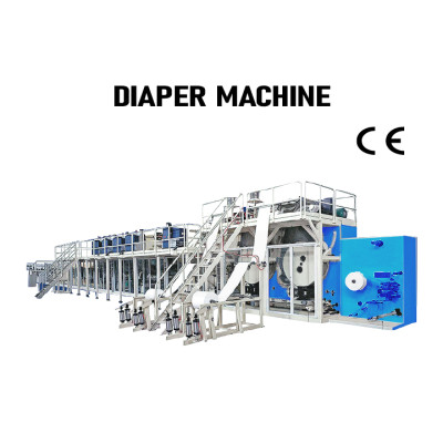 SUNTECH full servo Automatic baby diapers machine for sale