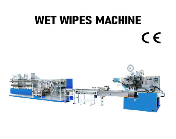 SUNTECH High Speed Fully Automatic producing wet wipes machine wipes production line