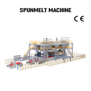 Automatic PP sms nonwoven making machine Fabric Production Line