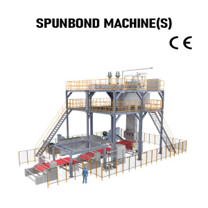 Automatic PP Spunbond Production Line S nonwoven fabric making machine