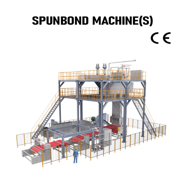 Automatic PP Spunbond Production Line S nonwoven fabric making machine