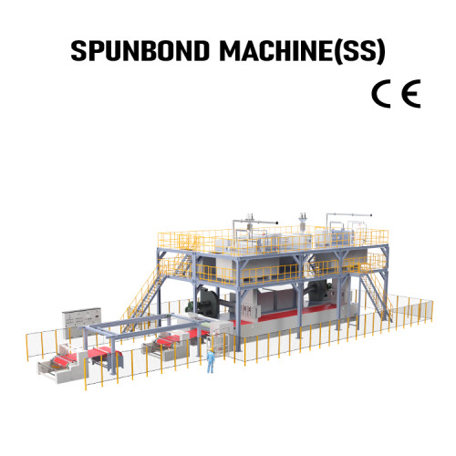Automatic PP Spunbond Production Line SS nonwoven fabric making machine