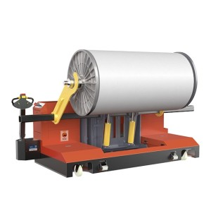 MOTORIZED WARP BEAM HIGH LIFT TROLLEY( FOR PILE AND GROUD WARP BEAM; WITH FOUR-WAY TALENT )